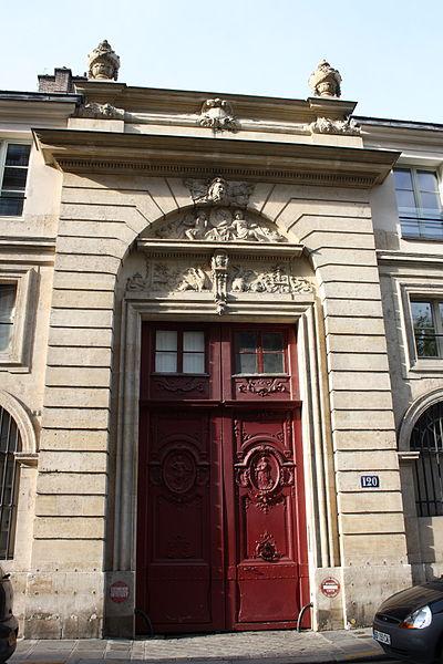 Photo du Monument Historique Hôtel situé à Paris 7e Arrondissement