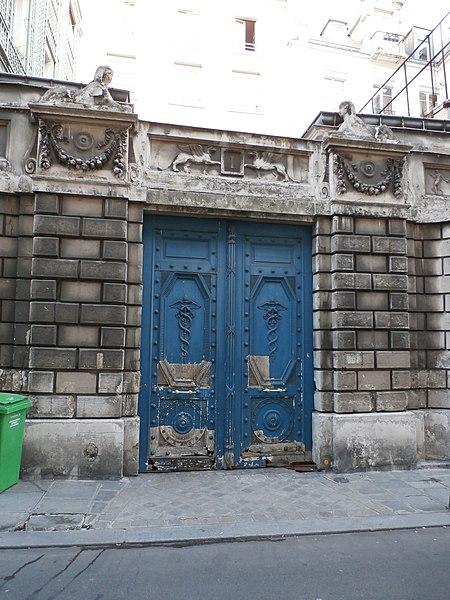 Photo du Monument Historique Hôtel  , dit hôtel d'Auterive ou de Saint-Simon situé à Paris 7e Arrondissement