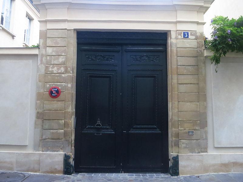 Photo du Monument Historique Hôtel  , dit aussi Hôtel des Vertus, de Courthenay, de Chemilly, de Béthune ou de Croix situé à Paris 7e Arrondissement