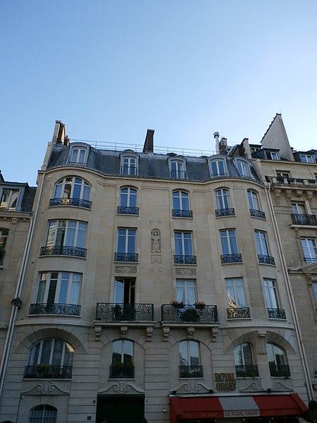 Photo du Monument Historique Hôtel de Lannion situé à Paris 7e Arrondissement