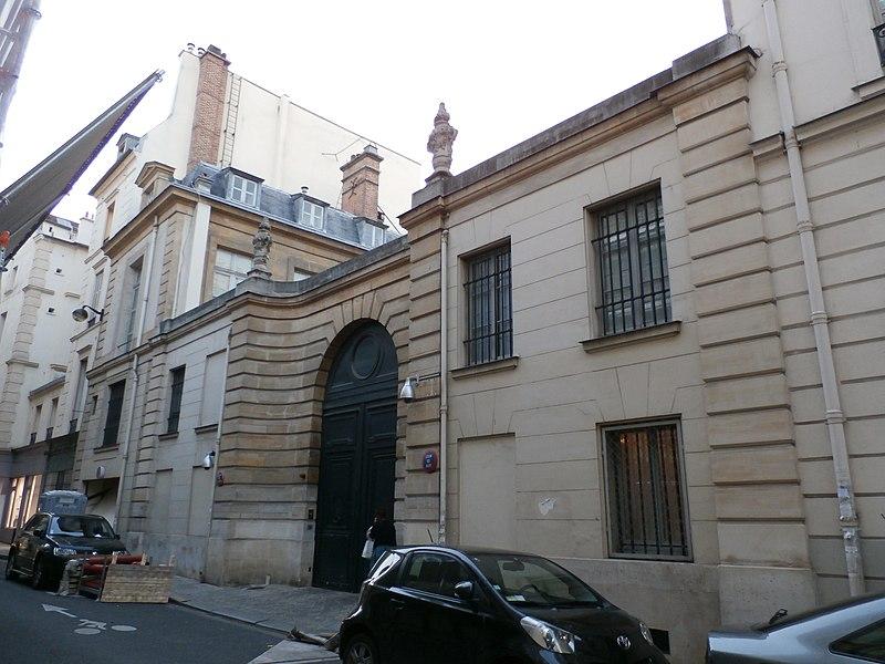 Photo du Monument Historique Hôtel, dit aussi Hôtel de Laigue, du Président Talon, de Créqui ou de Béthune situé à Paris 7e Arrondissement