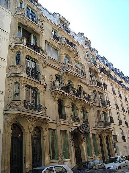 Photo du Monument Historique Immeuble Les Arums situé à Paris 7e Arrondissement