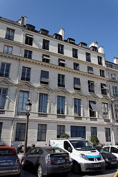 Photo du Monument Historique Maison situé à Paris 7e Arrondissement