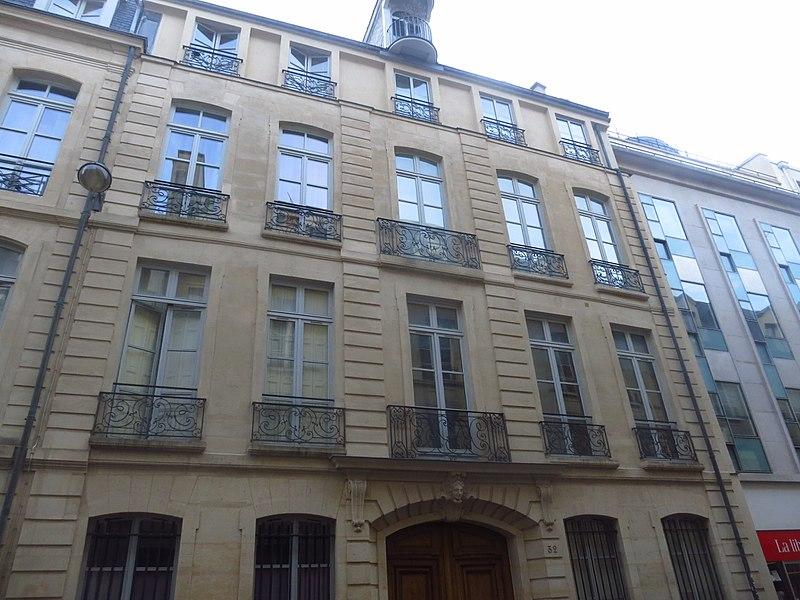 Photo du Monument Historique Immeuble situé à Paris 7e Arrondissement