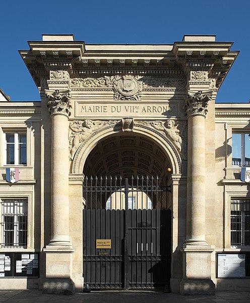 Photo du Monument Historique Mairie annexe du septième arrondissement situé à Paris 7e Arrondissement