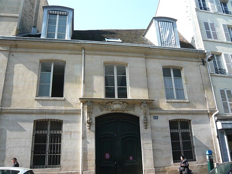 Photo du Monument Historique Maison des Filles de la Charité situé à Paris 7e Arrondissement