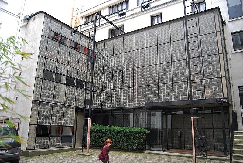 Photo du Monument Historique Maison de Verre situé à Paris 7e Arrondissement