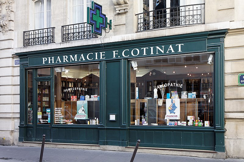 Photo du Monument Historique Pharmacie situé à Paris 7e Arrondissement
