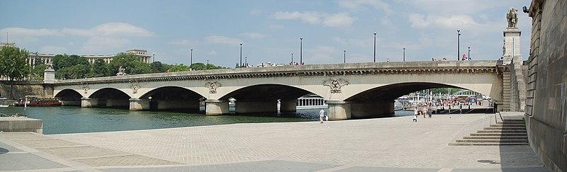 Photo du Monument Historique Pont d'Iéna situé à Paris 7e Arrondissement