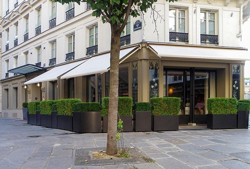 Photo du Monument Historique Boulangerie situé à Paris 8e Arrondissement