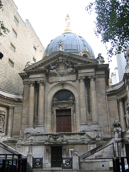 Photo du Monument Historique Chapelle Notre-Dame-de-Consolation situé à Paris 8e Arrondissement