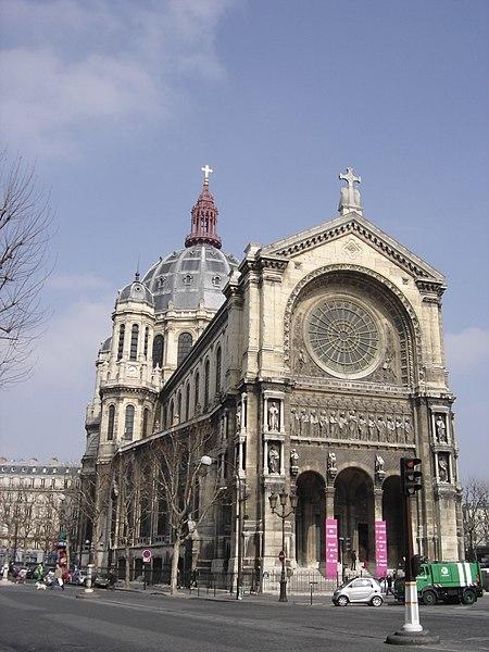 Photo du Monument Historique Eglise Saint-Augustin situé à Paris 8e Arrondissement