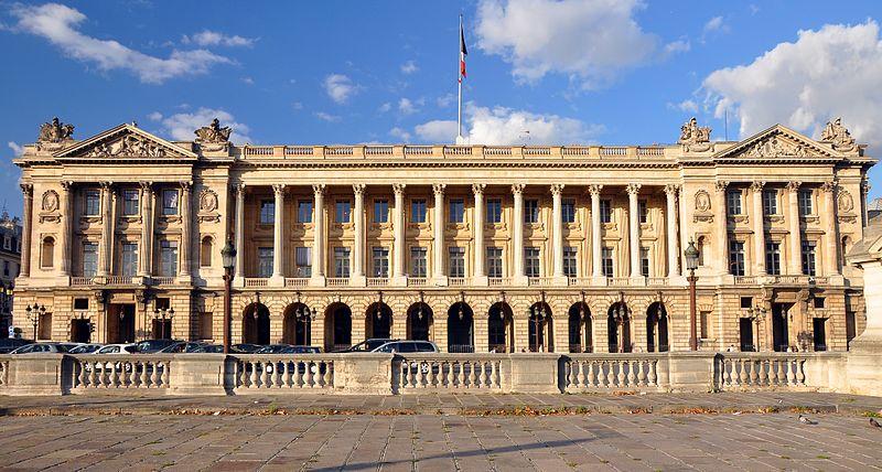 Photo du Monument Historique Ancien Garde-Meuble, actuellement ministère de la Marine ou Hôtel de la Marine situé à Paris 8e Arrondissement
