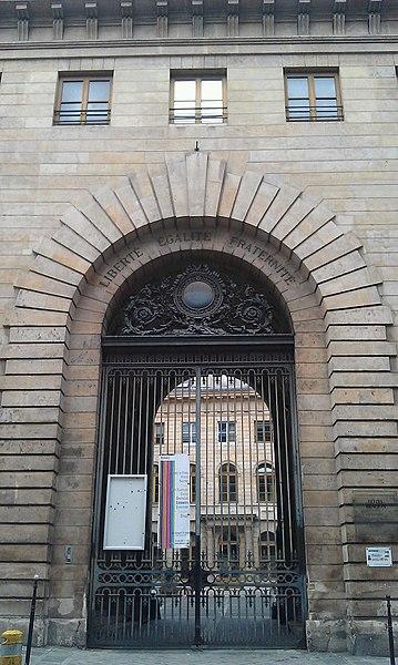 Photo du Monument Historique Hôpital Beaujon situé à Paris 8e Arrondissement