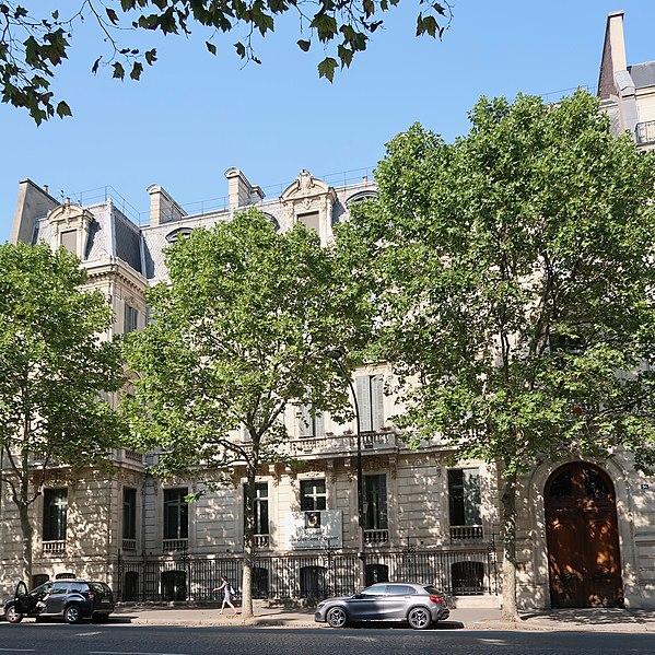 Photo du Monument Historique Hôtel Cail situé à Paris 8e Arrondissement