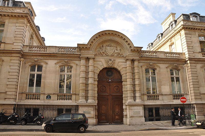 Photo du Monument Historique Hôtel de Camondo situé à Paris 8e Arrondissement