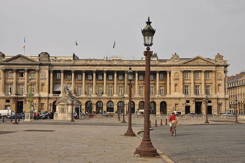 Photo du Monument Historique Hôtel Crillon situé à Paris 8e Arrondissement