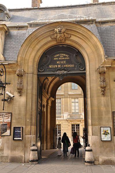 Photo du Monument Historique Ancien hôtel Moïse de Camondo, actuellement musée Nissim de Camondo situé à Paris 8e Arrondissement