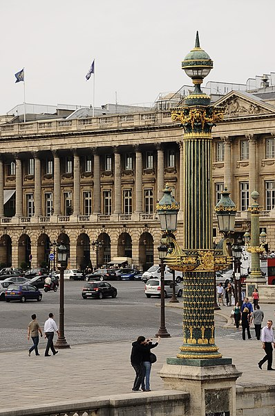 Photo du Monument Historique Hôtel du Plessis-Bellière situé à Paris 8e Arrondissement