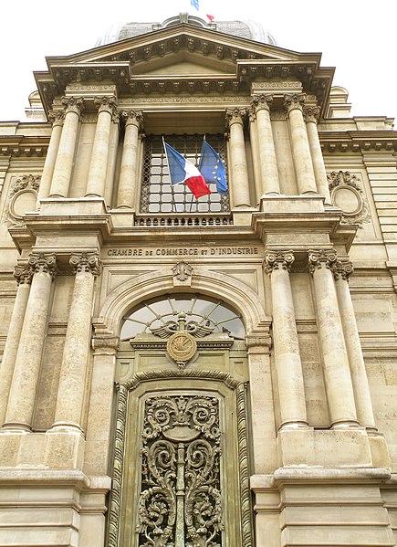 Photo du Monument Historique Ancien hôtel Potocki, actuellement Chambre de Commerce et d'Industrie de Paris situé à Paris 8e Arrondissement