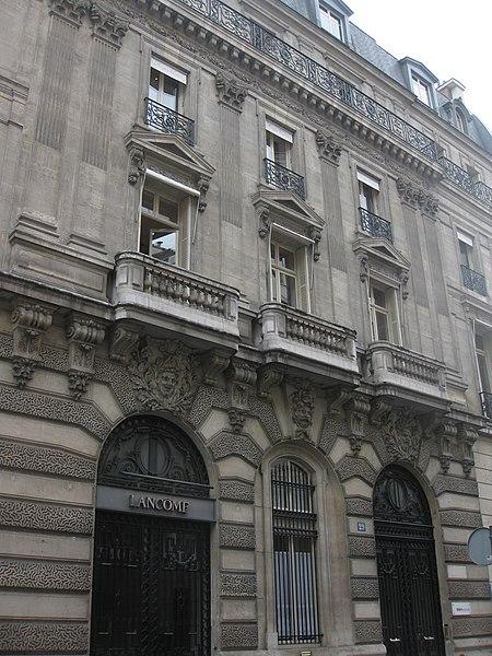Photo du Monument Historique Hôtel de Rohan-Montbazon situé à Paris 8e Arrondissement