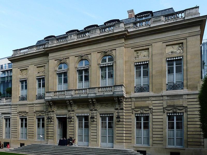 Photo du Monument Historique Hôtel de la Vaupalière situé à Paris 8e Arrondissement
