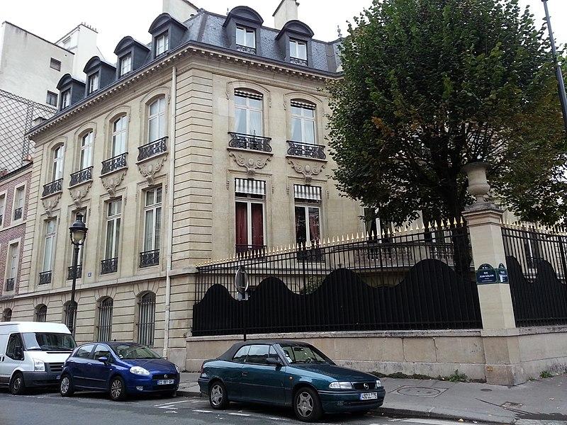 Photo du Monument Historique Hôtel Vilgruy situé à Paris 8e Arrondissement