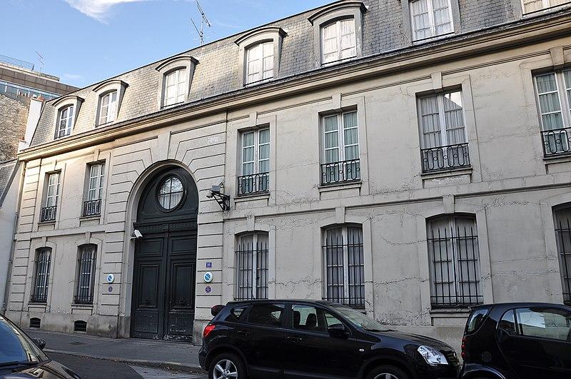 Photo du Monument Historique Hôtel situé à Paris 8e Arrondissement