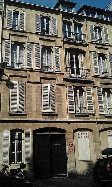 Photo du Monument Historique Maison Courmont situé à Paris 8e Arrondissement