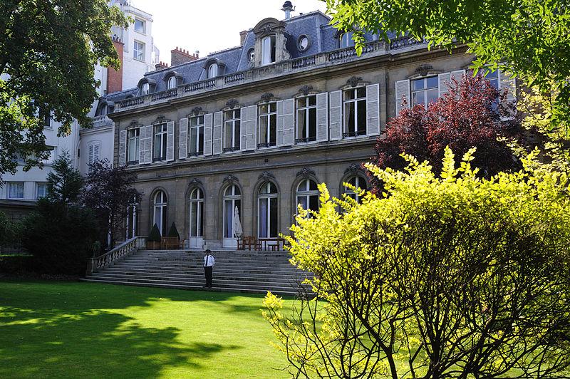 Photo du Monument Historique Hôtel du Ministère de l'Intérieur situé à Paris 8e Arrondissement