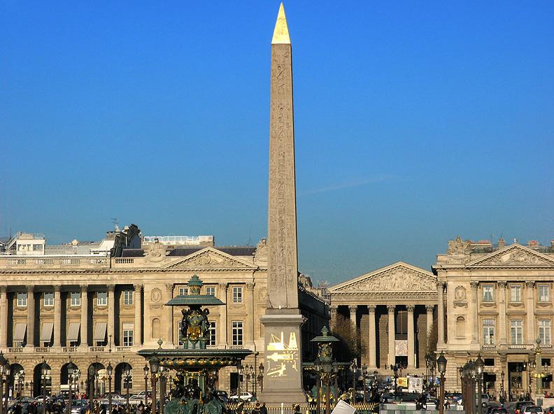 Photo du Monument Historique Obélisque de Louqsor situé à Paris 8e Arrondissement