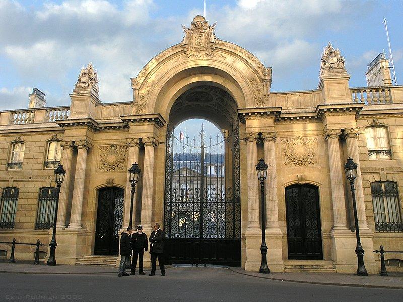 Photo du Monument Historique Palais de l'Elysée situé à Paris 8e Arrondissement