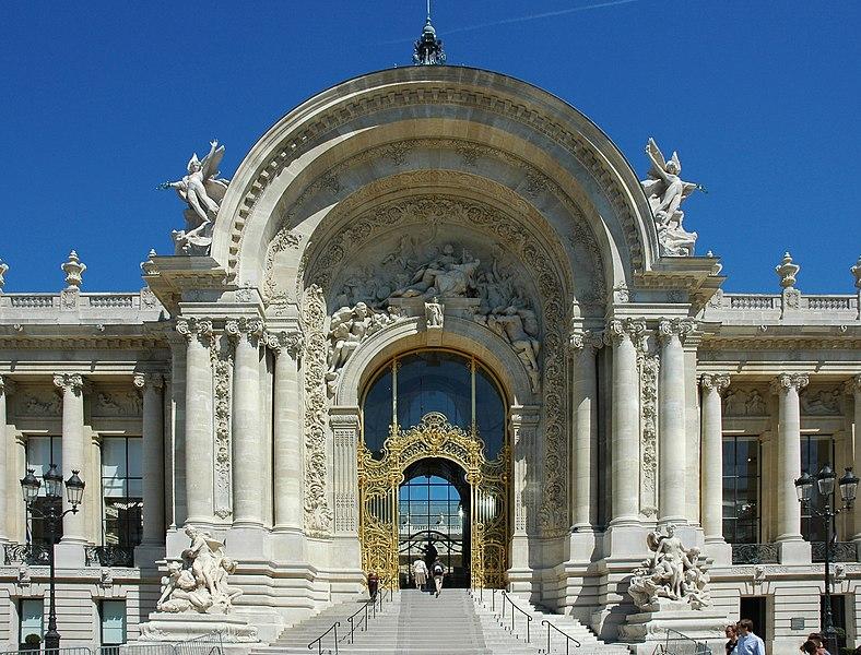 Photo du Monument Historique Petit Palais, actuellement musée des Beaux-Arts de la Ville de Paris situé à Paris 8e Arrondissement