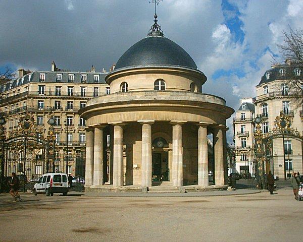Photo du Monument Historique Parc Monceau situé à Paris 8e Arrondissement