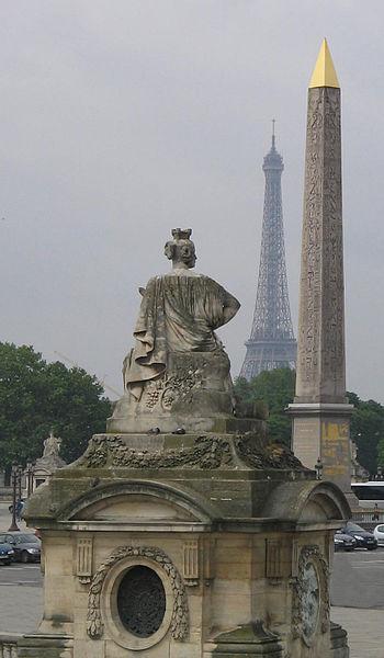 Photo du Monument Historique Place de la Concorde situé à Paris 8e Arrondissement