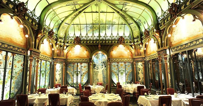 Photo du Monument Historique Restaurant La Fermette Marbeuf situé à Paris 8e Arrondissement
