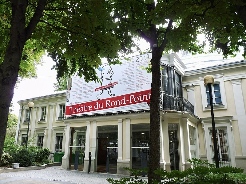 Photo du Monument Historique Théâtre Renaud-Barrault situé à Paris 8e Arrondissement