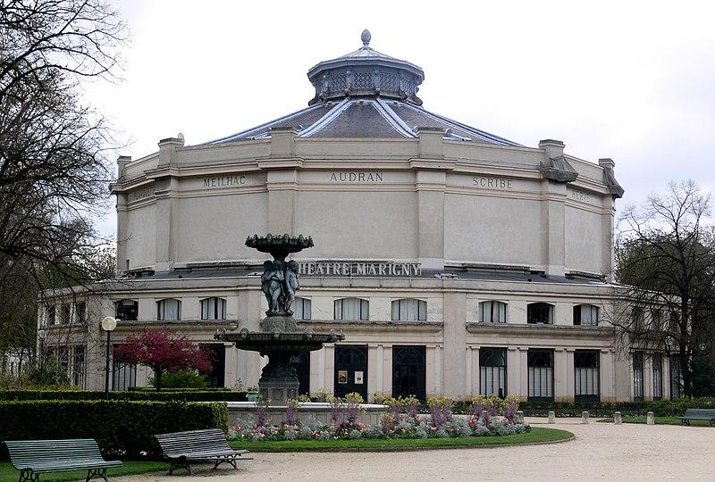 Photo du Monument Historique Théâtre Marigny situé à Paris 8e Arrondissement