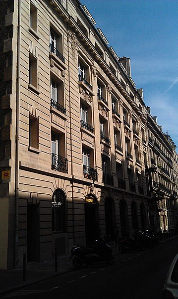 Photo du Monument Historique Théatre Tristan Bernard situé à Paris 8e Arrondissement