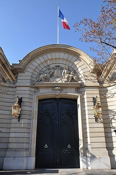 Photo du Monument Historique Hôtel Marigny situé à Paris 8e Arrondissement