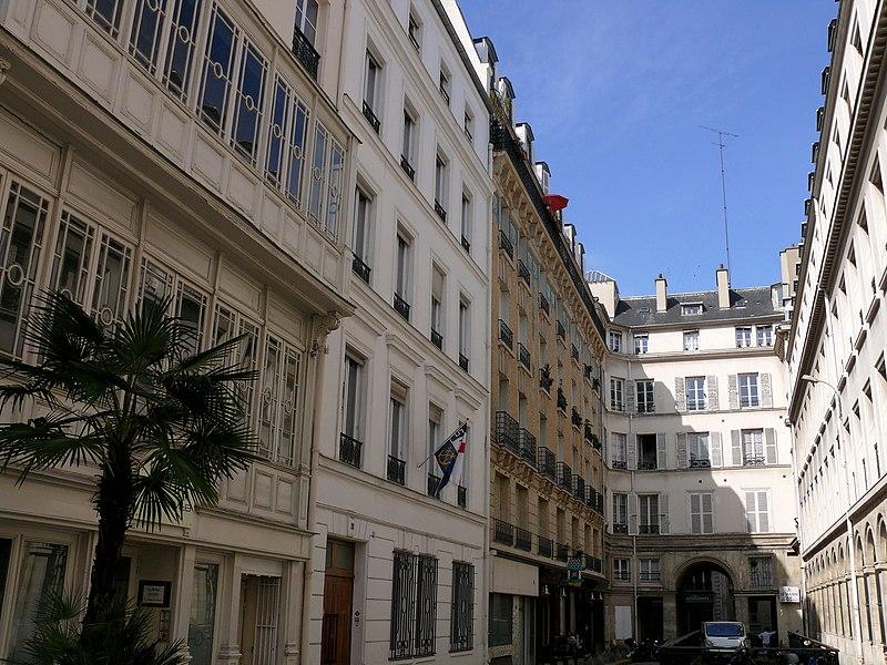 Photo du Monument Historique Cité d'Antin situé à Paris 9e Arrondissement