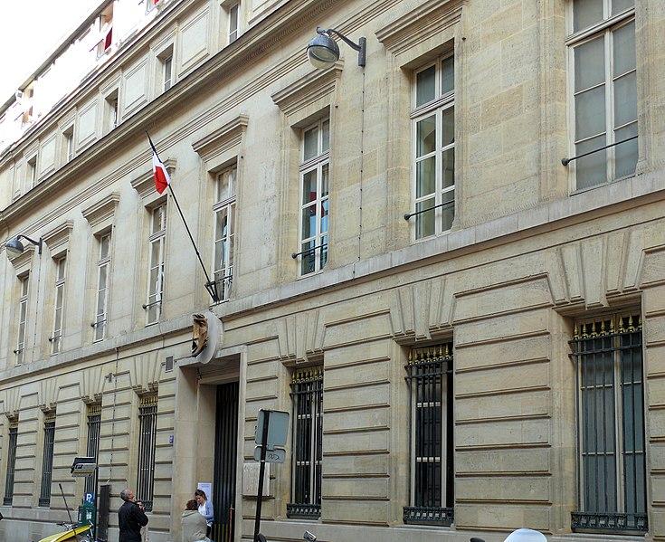 Photo du Monument Historique Ancien conservatoire National de Musique et de Déclamation situé à Paris 9e Arrondissement
