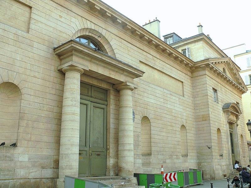 Photo du Monument Historique Ancien couvent des Capucines situé à Paris 9e Arrondissement