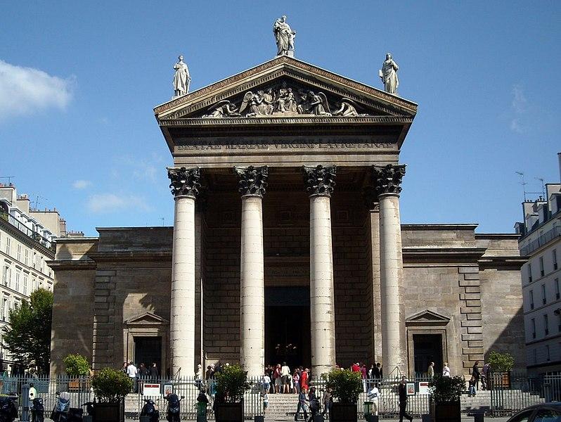 Photo du Monument Historique Eglise Notre-Dame-de-Lorette situé à Paris 9e Arrondissement