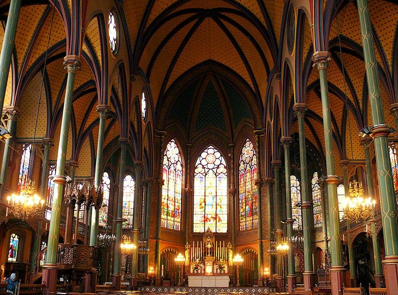 Photo du Monument Historique Eglise Saint-Eugène-Sainte-Cécile situé à Paris 9e Arrondissement