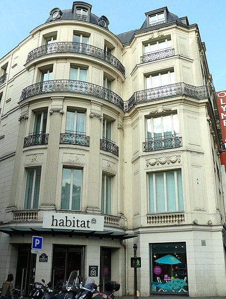 Photo du Monument Historique Hôtel d'Aumont situé à Paris 9e Arrondissement
