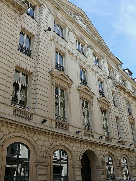 Photo du Monument Historique Hôtel Bélanger situé à Paris 9e Arrondissement