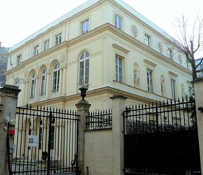 Photo du Monument Historique Hôtel Bony situé à Paris 9e Arrondissement