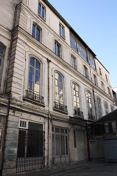 Photo du Monument Historique Hôtel Cromot du Bourg situé à Paris 9e Arrondissement