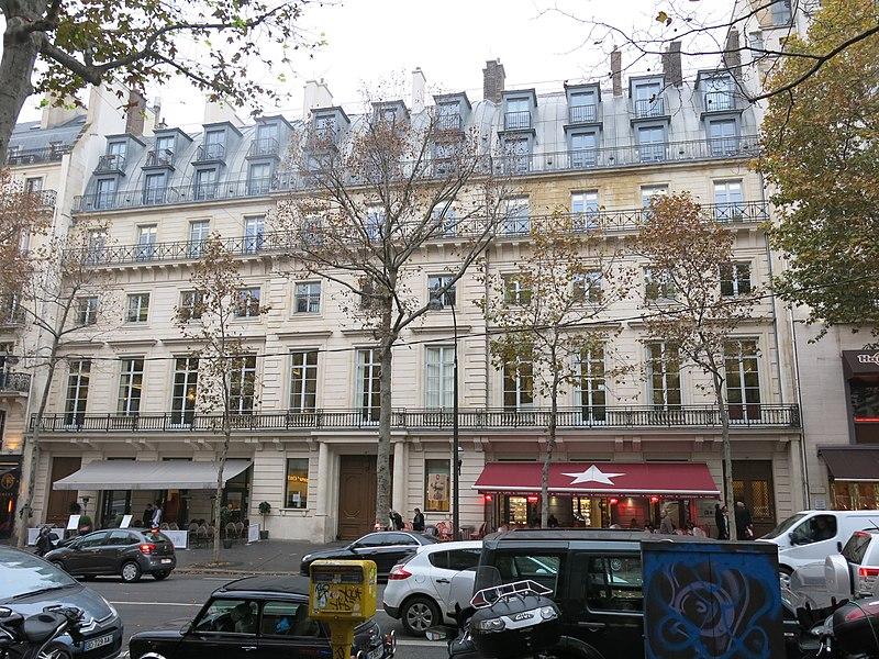 Photo du Monument Historique Ancien hôtel de Mercy-Argenteau situé à Paris 9e Arrondissement